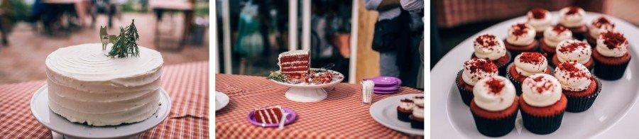Matrimonio Country - Tattoo - Valpolicella - Fotografo Matrimoni Verona - Valerio Di Domenica - Cupcake red velvet