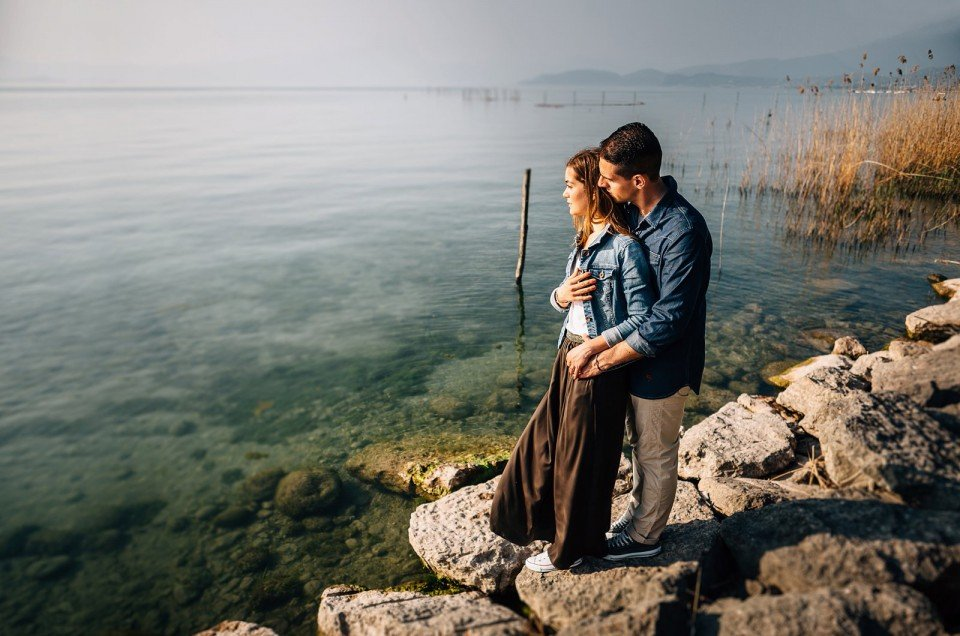 Lago di Garda ~ Matteo e Maria Lisa