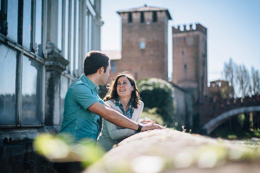 Engagement Verona - Castelvecchio - Torricelle - Valerio Di Domenica Photography