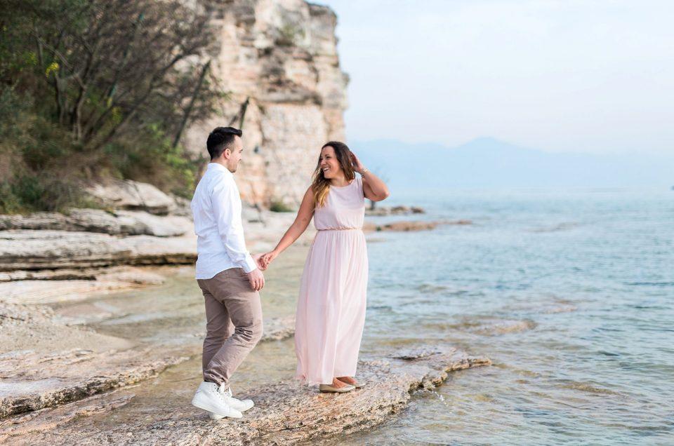 Lovers in Sirmione ~ Lago di Garda