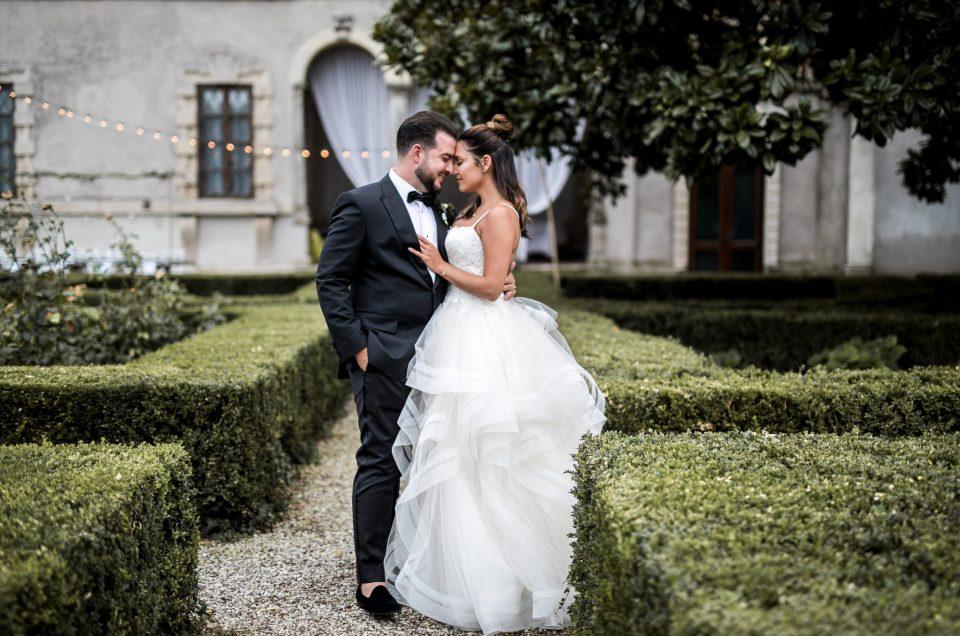 Villa Zambonina ~ Andrew & Candice ~ Vigasio
